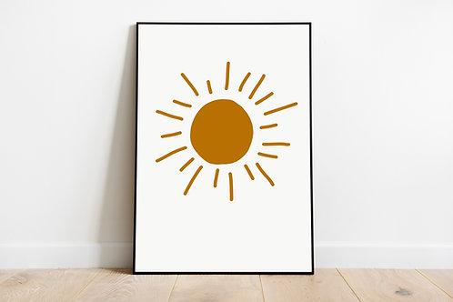 Poster 'Sonne'