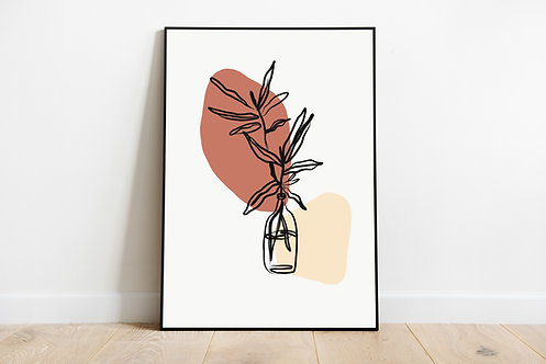 Poster 'Vase'