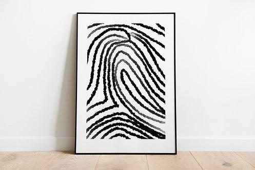 Poster 'Fingerprint'