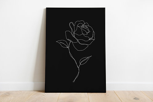 Poster 'Rose'