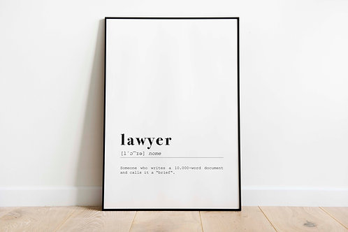 Poster 'Lawyer'