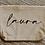 Thumbnail: Kosmetiktasche mit Wunschtext