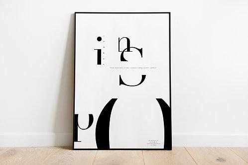 Poster 'Inspo'