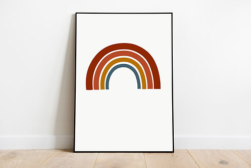 Poster 'Regenbogen'
