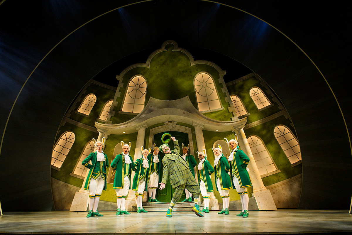 Wind in the Willows - Rabbit Flunkies - West End
