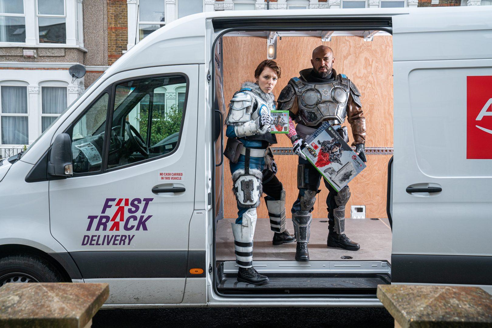 Gears 5 - Kait Diaz & JD Fenix - Argos Campaign
