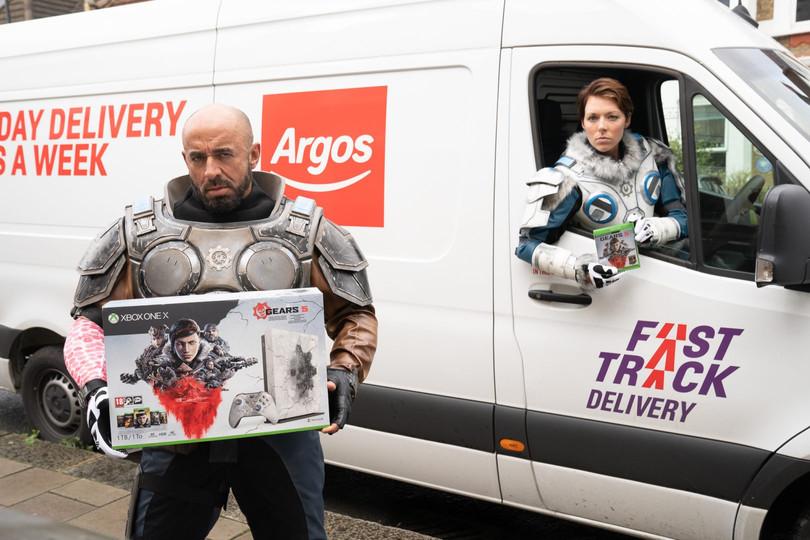 Gears 5 - JD Fenix - Argos Campaign