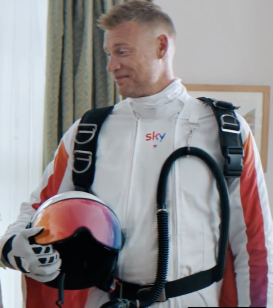 Sky Commercial - Wing Suits