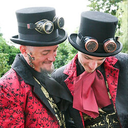Images of the Steampunk Wedding