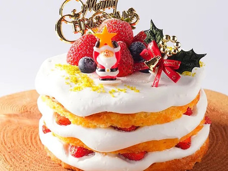 クリスマスケーキの予約締切およびオンラインショップの再開について