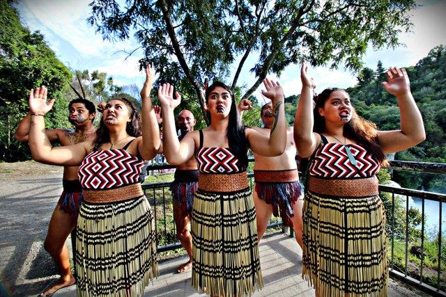Maori Haka Group