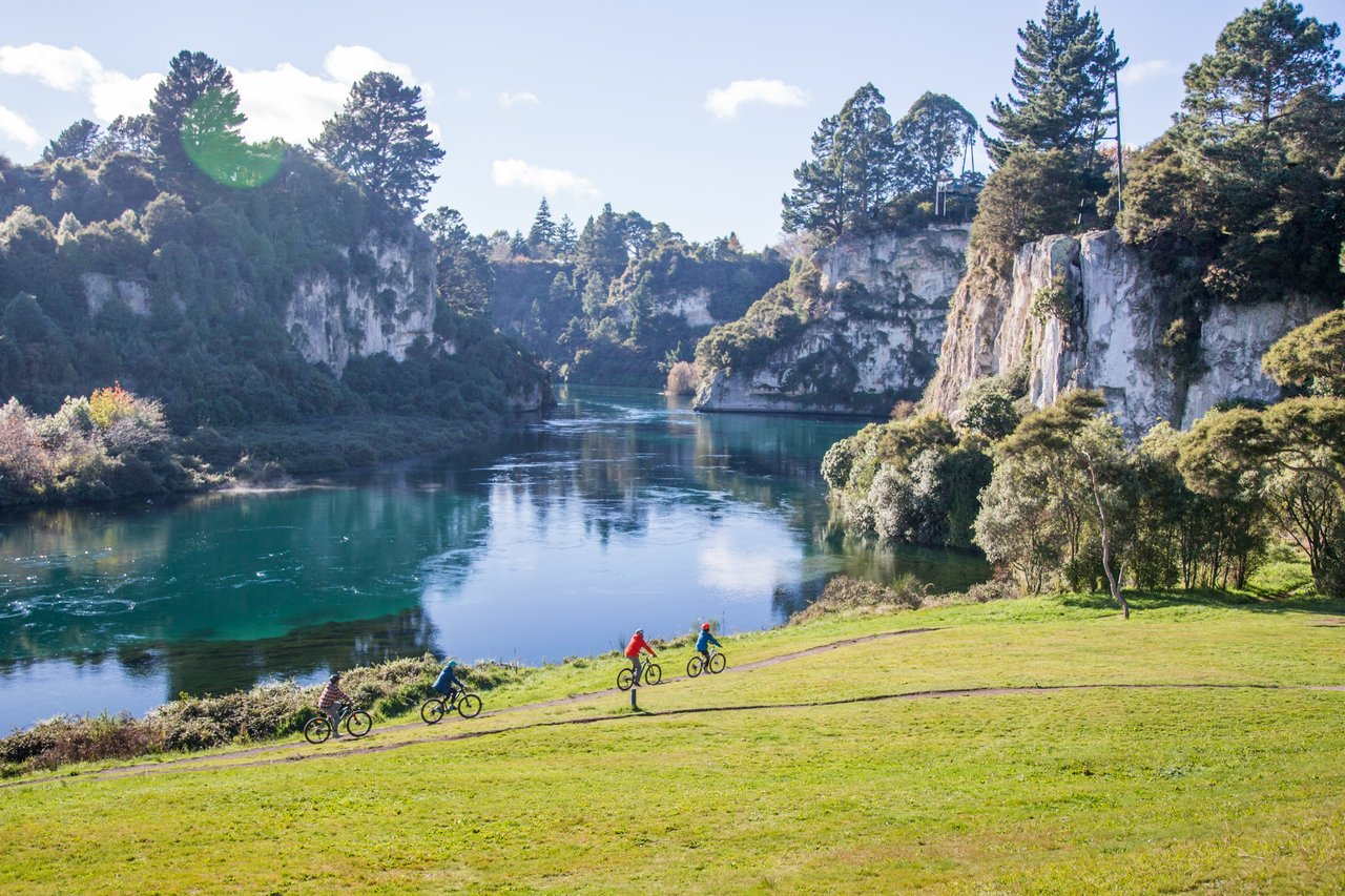 Waikato River Mountain Biking