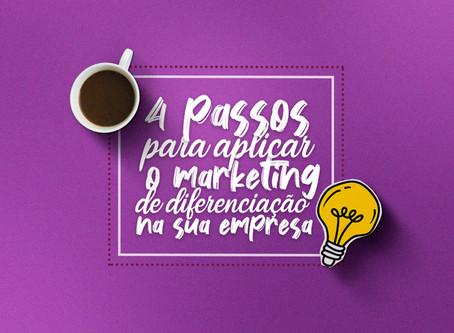 Marketing de diferenciação como estratégia de branding!