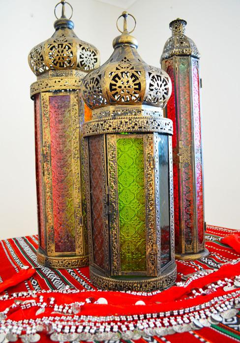 Arabian Themed Lanterns