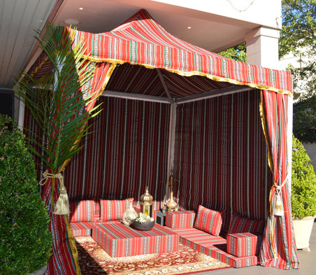 Moroccan Themed Tent