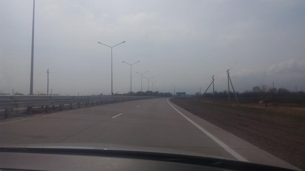 Успешно произведена отгрузка в г.Талдыкорган Опор освещения типа СТВ и дорожного колесоотбойного дорожного бруса