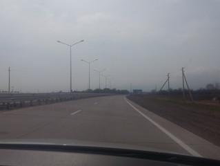 Опора освещения типа СТВ и дорожного колесоотбойного дорожного бруса