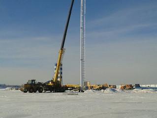 Мачты МСП высотой 30 и 40 метров