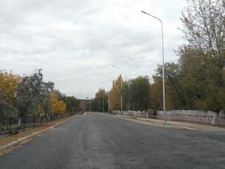 Опоры освещения Караганда, улица Мустафина