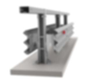 images Мостовое барьерное ограждение 11МД 1-ст