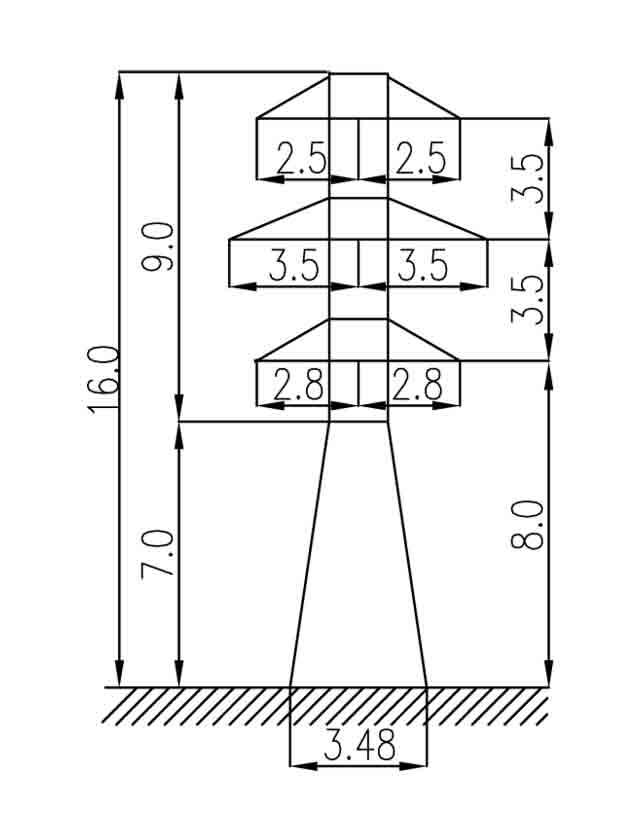 Опора 1У35-2