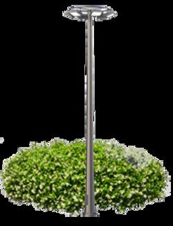 Прожекторная мачта освещения со стационарной короной СТПр 25