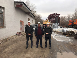 """Комиссия АО НК """"Казавтожол"""" во главе с Батыром Турсынбаевичем"""