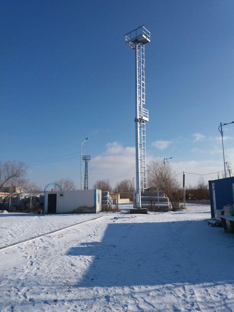 Радиорелейная опора (РРЛ) предназначена для размещения антенн радиорелейных систем связи, радио и телеантенн, а также размещение радарной и сигнальной аппаратуры.