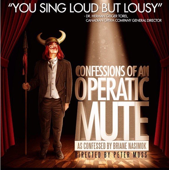 Poster for Confesions of an Operatic Mute