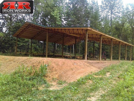 24x60 Standing pole Barn Kit