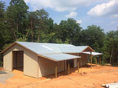 40x60 enclosed building kit