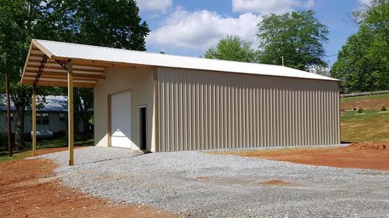30x40 Enclosed Building Kit