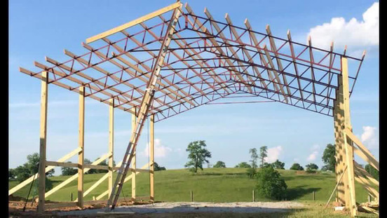 30x40 Standing Pole Barn Kit