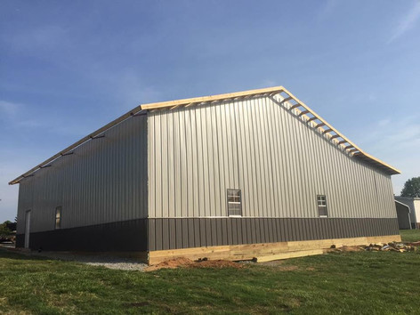 30x70 12' Shed