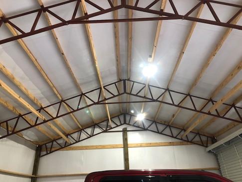 3 Car Garage 24x30 Enclosed