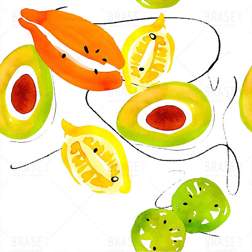 fruits and avocados