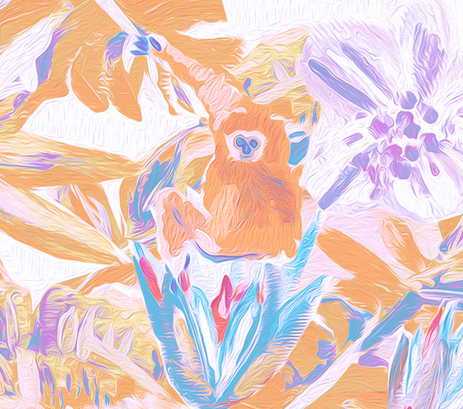 Pastel-Colored Tropicals