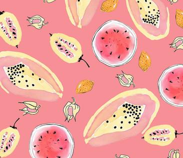 juicy fresh fruits
