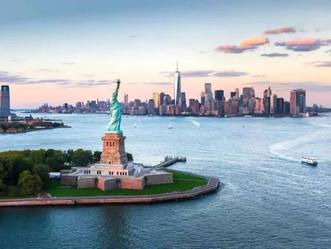 纽约:自由女神和爱丽丝岛