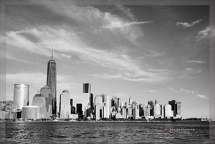 The Skyline of Downtown Manhattan