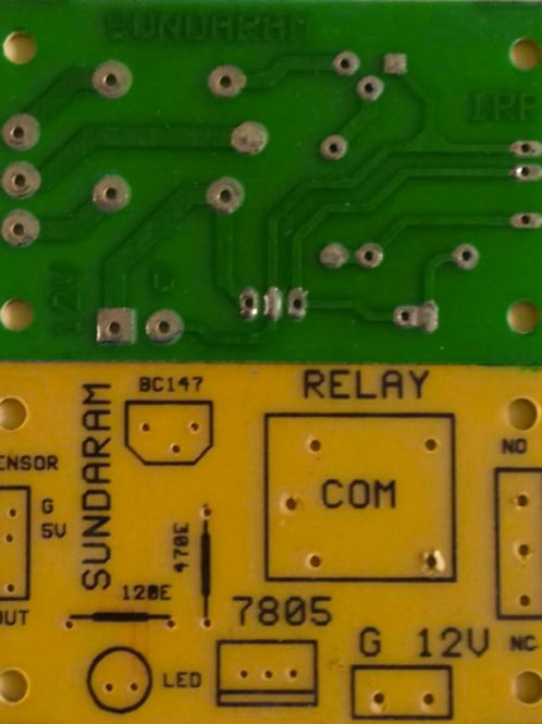 IRR WITH RELAY