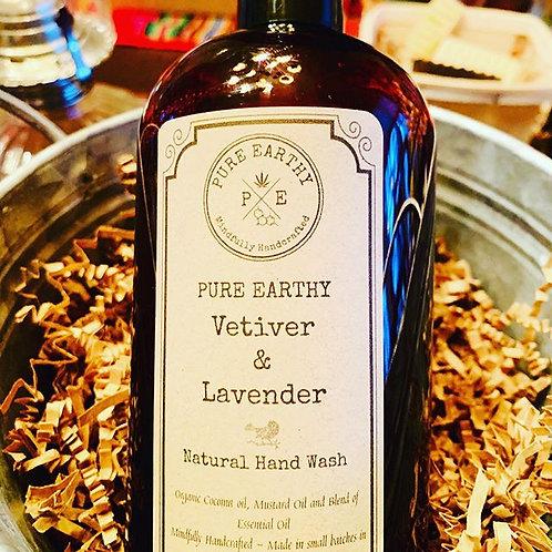 Vetiver & Lavender Hand Soap