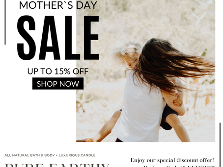 Mother's Day Sale Starts today!