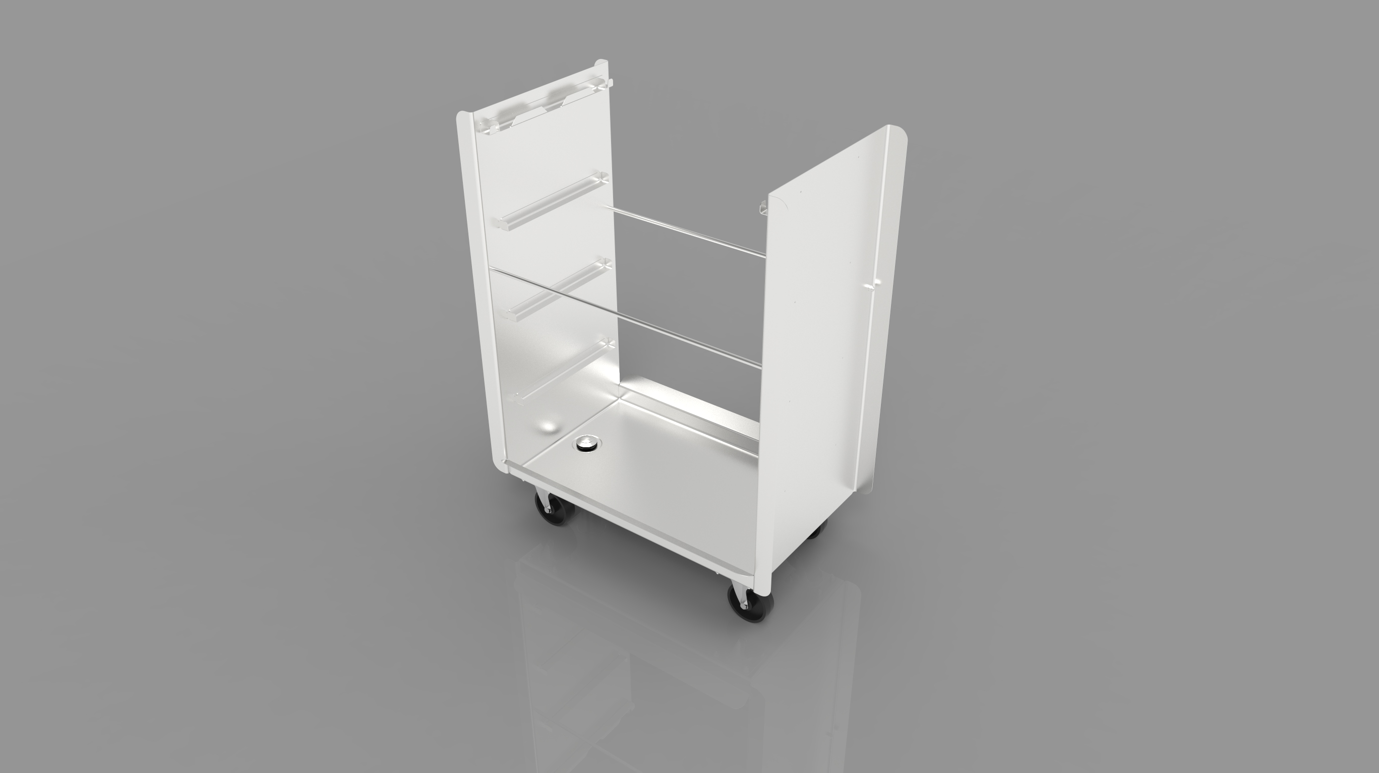 Horizontal Skewer Cart