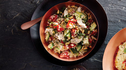 Rotisserie Chicken Tabbouleh Salad