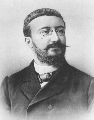 French psychologist Alfred Binet (1857~1911)