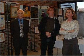 exposition de C. Sutter à Neuville sur Sarthe