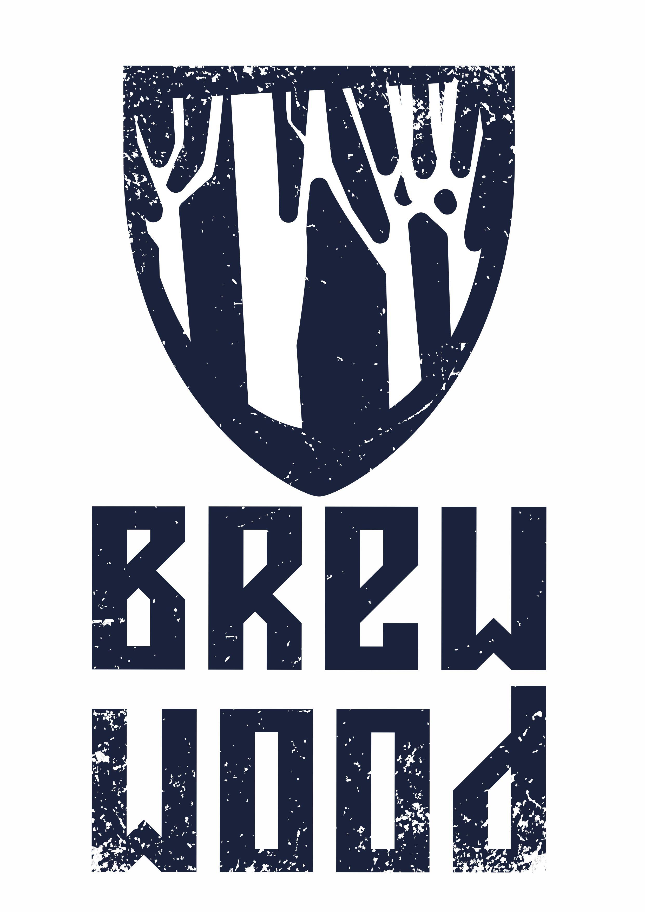 лого Brew wood