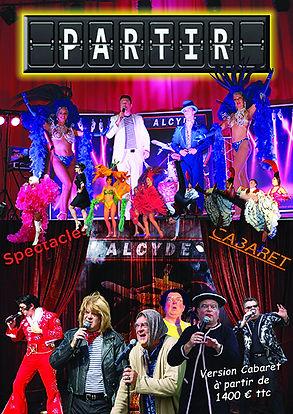 Spectacle cabaret d'Alcyde