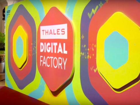 Thales Digital Factory Interactive Wall